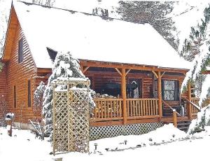 Log Home 001