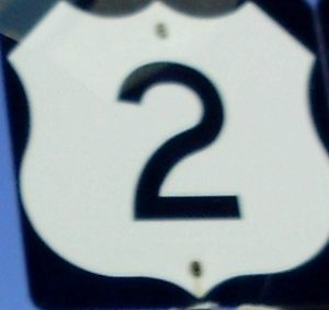My favorite highway goes all the way from the UP of Michigan to Everett, Washington!