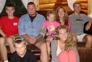 Miller, Sean, Maddie, Christy, Max, Mason, Megan.