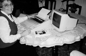 Anita on Word Processor
