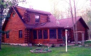 Log Home 002
