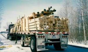Logs delivered
