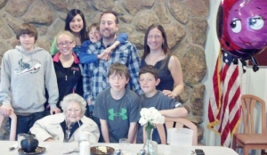 Mother & Chris's family