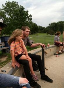 Family 13 skate park 2