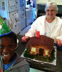 Armon & me & cake
