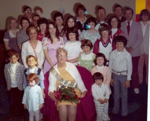 Mother of year 1974 group