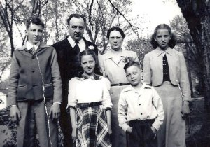My family 1950